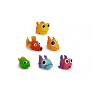 Beeztees Latex Fishies Hondenspeeltje (0620875) Per stuk