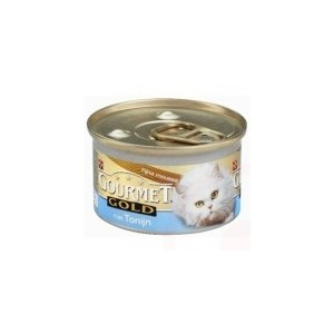 Gourmet Gold Mousse Tonijn kattenvoer 1 tray (24 blikken)