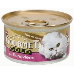 Gourmet Gold Mousse Rund kattenvoer