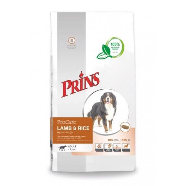 Prins ProCare Lam & Rijst Hypoallergic hondenvoer