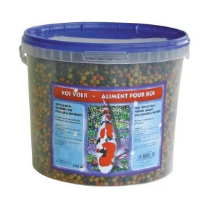 Vis Vissenvoer Brekz Koi Voer kleine korrel vissenvoer 3 liter
