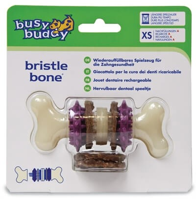 Busy Buddy Bristle Bone voor de hond