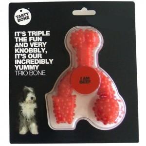 Tastybone Trio Bone Groot voor de hond