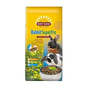 Hope Farms Hopefarms Rabbit SuperTrio 15 kg Knaagdier en konijn Voer