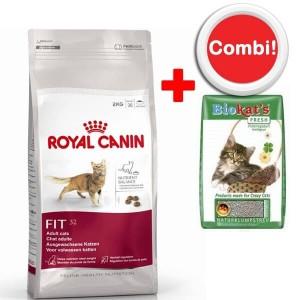 Royal Canin Kattenvoer + 10 Kg Biokat Kattengrit Combi Aanbieding
