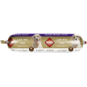 Rodi Worst Lam & Rijst voor de hond