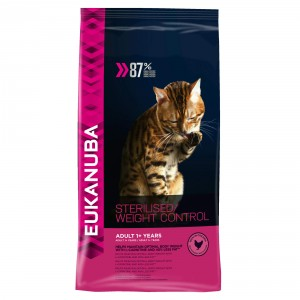 Eukanuba Adult Sterilised/Weight Control kattenvoer