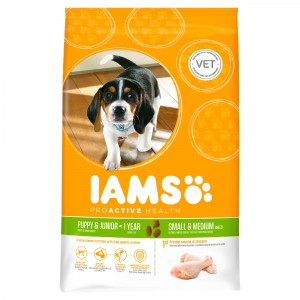 Iams Puppy & Junior Small/Medium hondenvoer