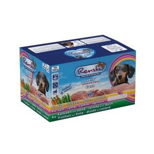 Renske Vers Multidoos (12 x 395 gram) hondenvoer 1 tray (12 x 395 gram)