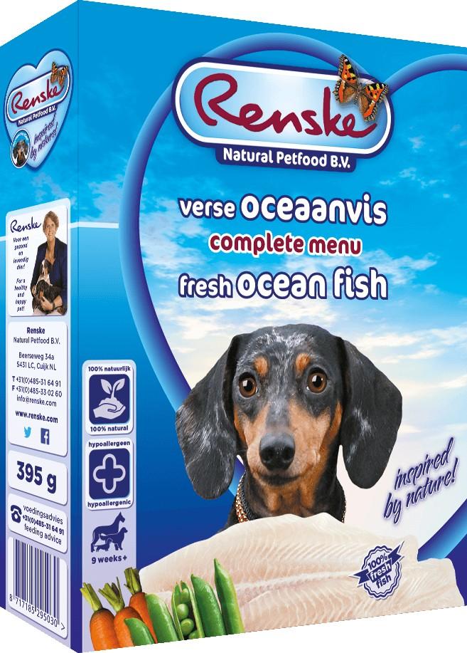 Renske Vers met Vis hondenvoer