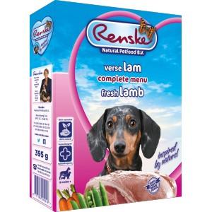 Renske Vers Lam hondenvoer 1 tray (10 x 395 gram)