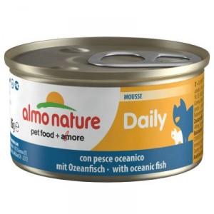 Almo Nature Daily Mousse met Oceaanvis 85 gram (152) per 48