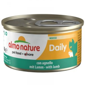 Almo Nature Daily Mousse met Lam 85 gr
