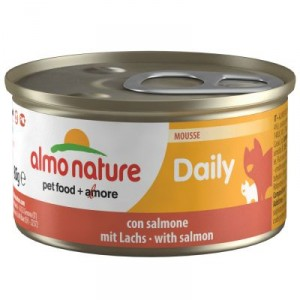 Almo Nature Daily Mousse met Zalm 85 gram (158)