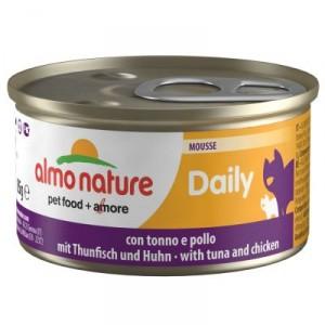 Almo Nature Daily Mousse met Tonijn & Kip 85 gram (148)