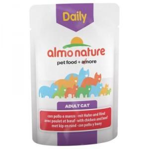 Almo Nature Daily Kip & Rundvlees 70 gram