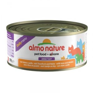 Almo Nature Daily Tonijn & Kip 170 gram (5301)
