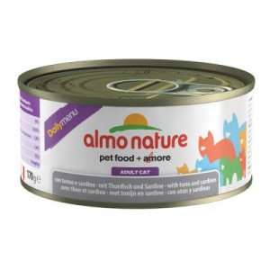 Almo Nature Daily Tonijn Sardine 170 gr Per 12 Almo Nature Nat kattenvoer Almo Nature