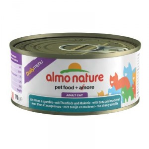 Almo Nature Daily Tonijn & Makreel 170 gr