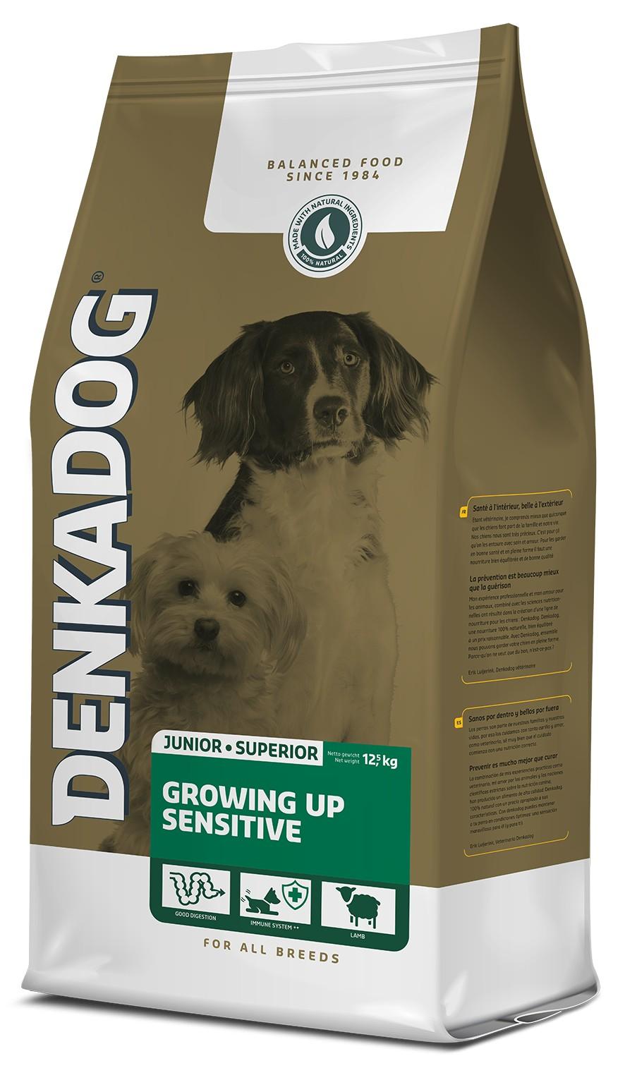 Denkadog Growing Up Sensitive hondenvoer
