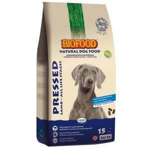 Biofood Geperst Lam & Rijst hondenvoer