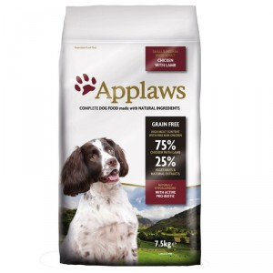 Afbeelding van 15 kg Adult Small & Medium Kip met Lam Applaws hondenvoer