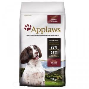 Applaws Adult Small & Medium Kip met Lam hondenvoer