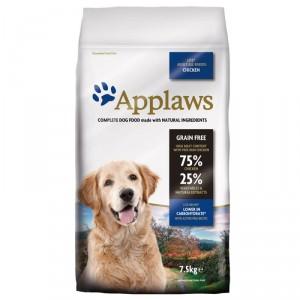 Afbeelding van 2x7,5 kg Lite Adult Kip Applaws hondenvoer