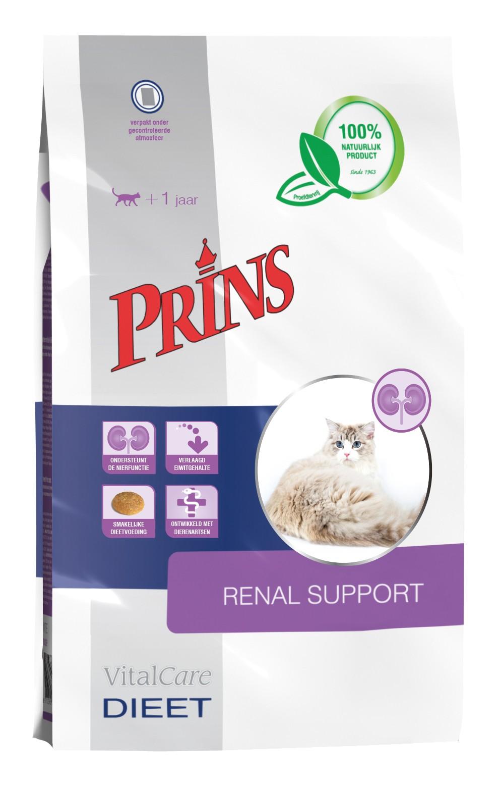 Prins Vitalcare Dieet Renal Support kattenvoer