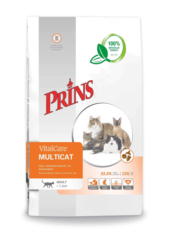 Prins Vitalcare Multicat kattenvoer
