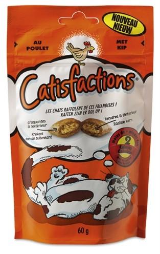 Catisfactions Kip kattensnoep