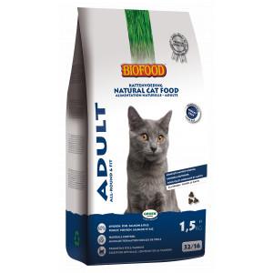 Biofood Adult Allround Fit kattenvoer 2 x 1.5 kg Biofood Kattenvoer Biofood