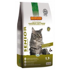 Biofood Senior kattenvoer 1.5 kg