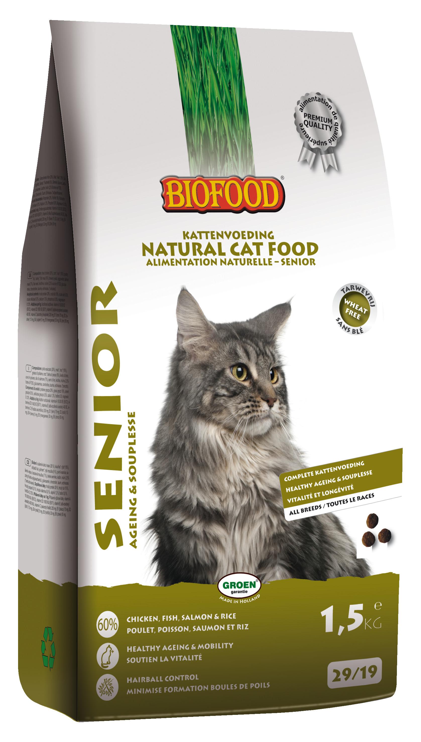 Biofood Senior Ageing & Souplesse kattenvoer