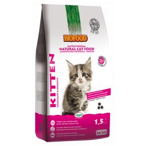 Kattenvoer Biofood Biofood Kitten Pregnant Nursing kattenvoer 2 x 1.5 kg