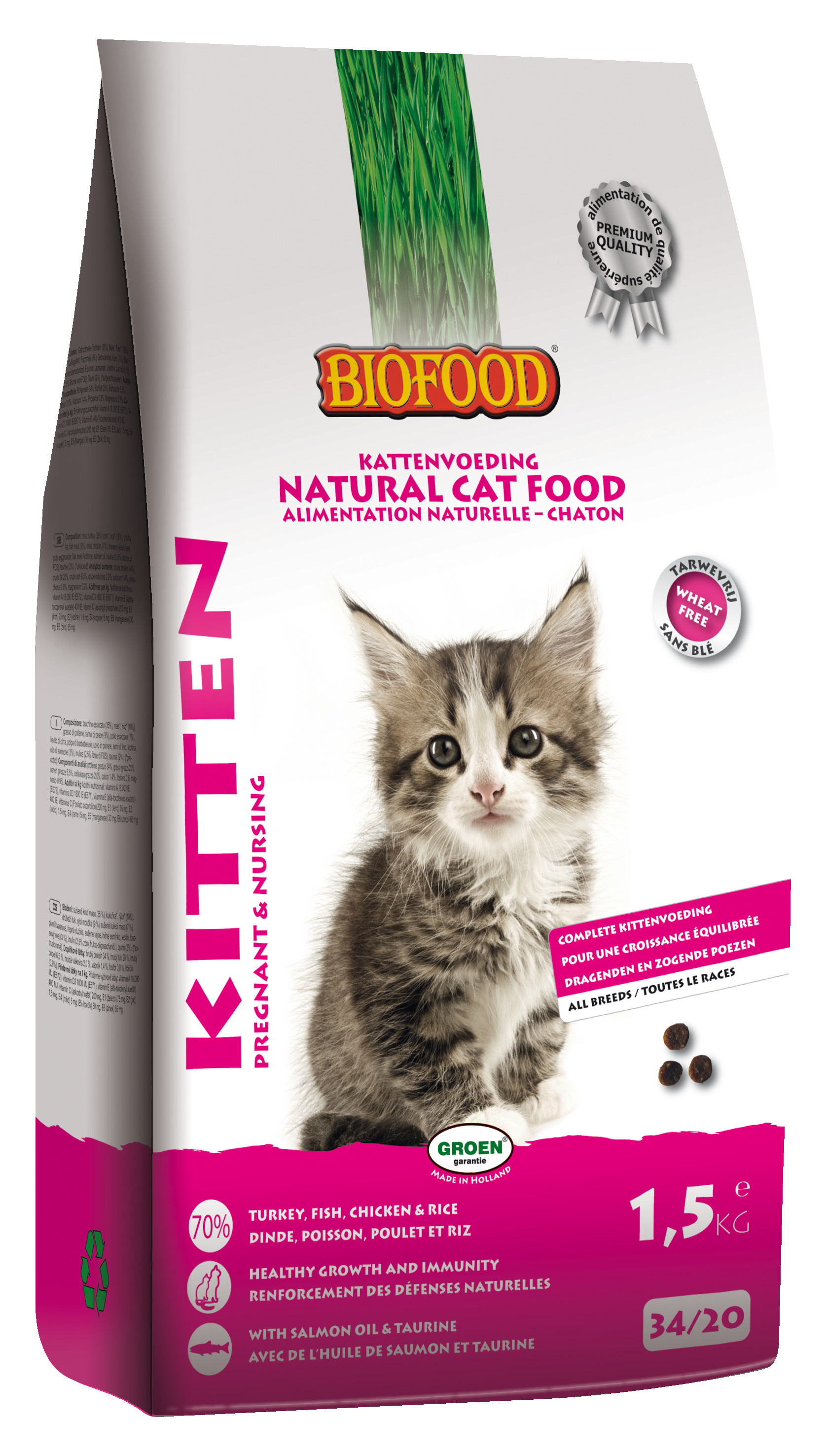 Biofood Kitten Pregnant & Nursing kattenvoer