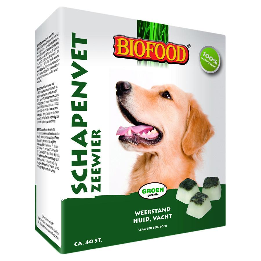 Biofood Schapenvet Maxi Bonbons met zeewier