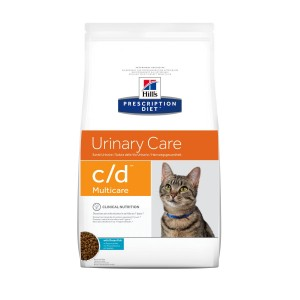 Hill's Prescription Diet C/D Ocean Fish kattenvoer