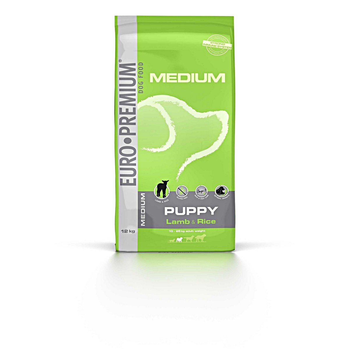 Euro Premium Medium Puppy Lamb & Rice hondenvoer