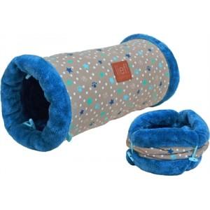 Lief! Speeltunnel Boys voor kat, pup en konijn