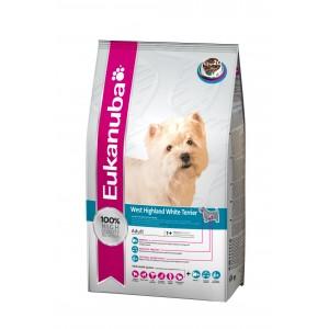 Eukanuba West Highland White Terrier hondenvoer 2,5 kg