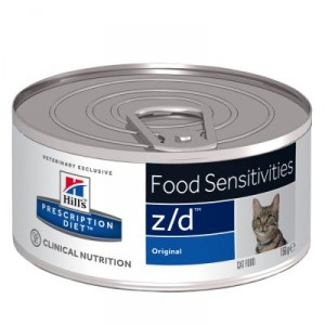 Hill's Prescription Diet Z/D 156 gr blik kattenvoer 1 tray (24 blikken)