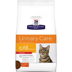 Hill apos s Prescription Diet C D Urinary Stress kattenvoer 2 x 8 kg Hill apos s Prescription Diet