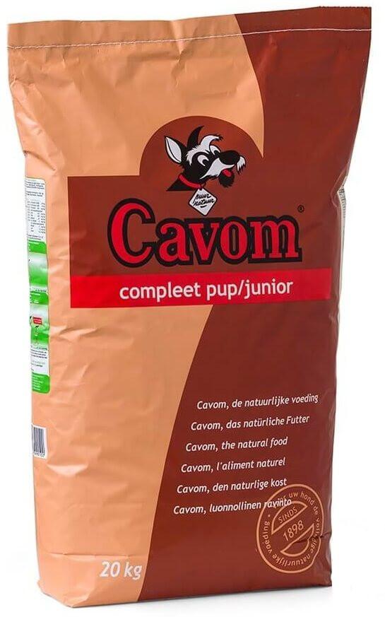 Cavom Compleet Pup/Junior hondenvoer
