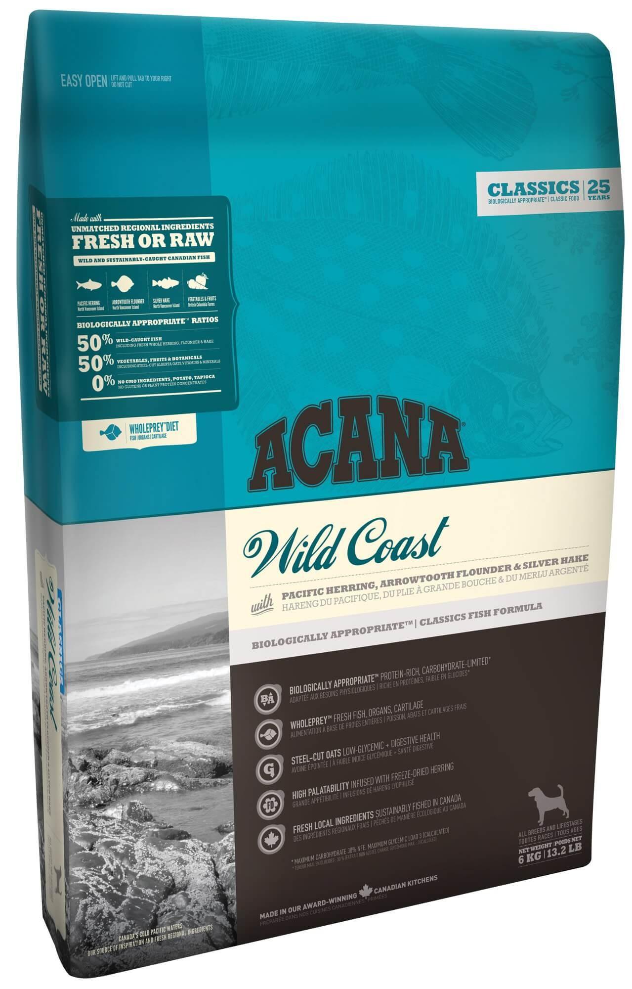 Acana Classics Wild Coast hondenvoer