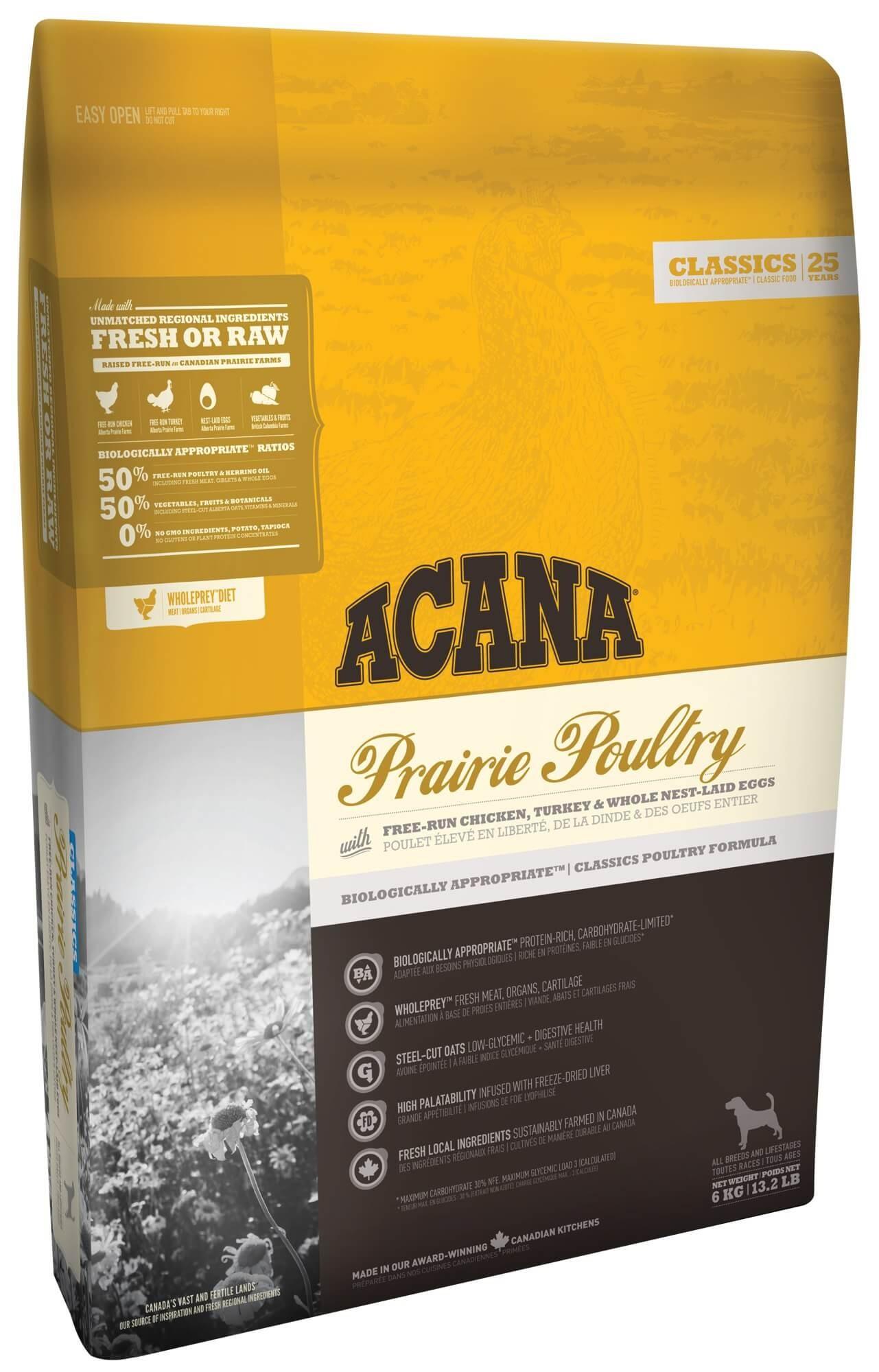 Acana Classics Prairie Poultry hondenvoer