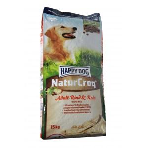 happy dog naturcroq rund met rijst hondenvoer bestel je. Black Bedroom Furniture Sets. Home Design Ideas