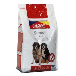 Smølke Senior Maxi Hondenvoer .4 kg OP is OP
