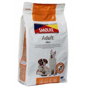 Smølke Adult Maxi Hondenvoer 4 kg OP is OP