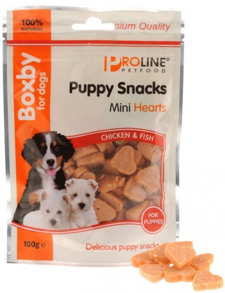 Boxby Mini Hearts hondensnack